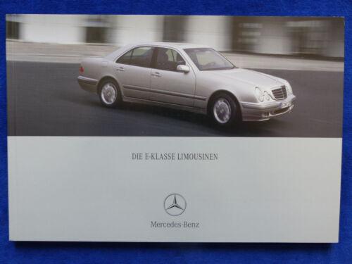 Prospekt Brochure 05.2000 Mercedes-Benz E-Klasse Limousinen E 430 E55 AMG W210