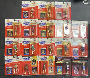 1988-MICHAEL-JORDAN-Rookie-Starting-Lineup-NBA-Lot-Basketball-18-Figure-Lot