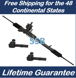 2 Outer tie rods ends Power Steering Rack and Pinion for Chrysler 300 RWD