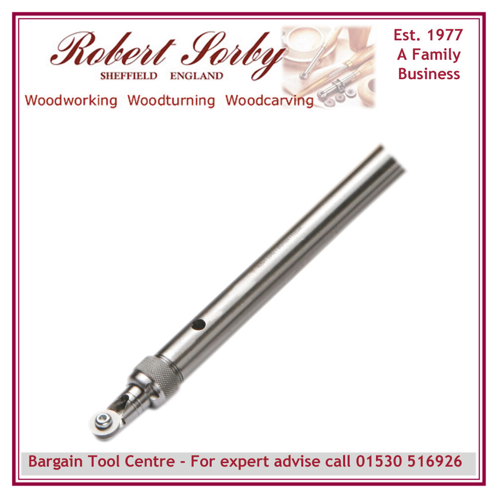 ROBERT SORBY RSTM-SCT1 Turnmaster Shank with Round Tungsten Carbide Cutter
