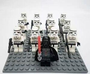 12x-Storm-Trooper-Mini-Figures-LEGO-STAR-WARS-Compatible