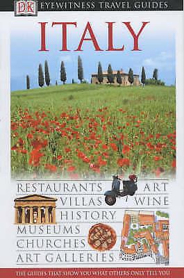 """""""AS NEW"""" Streiffert, Anna, Italy (DK Eyewitness Travel Guide), Book"""