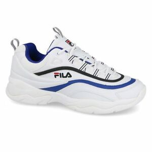 Details about Fila Ray Low Shoes White Men