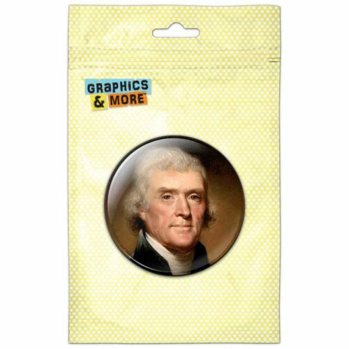 President Thomas Jefferson Pinback Button Pin Badge
