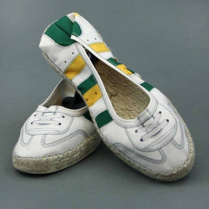 B Sided Chaussure à Corde Reborn W Beige Modèle Yel-vert