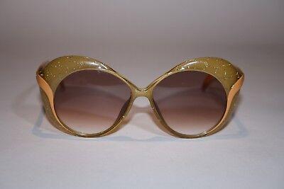 Saphira 4155 10 Optyl Verde/arancione Vintage 80er Occhiali Da Sole Da Donna-mostra Il Titolo Originale