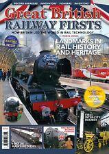 Great British Railway Firsts - Brand new magazine / bookazine
