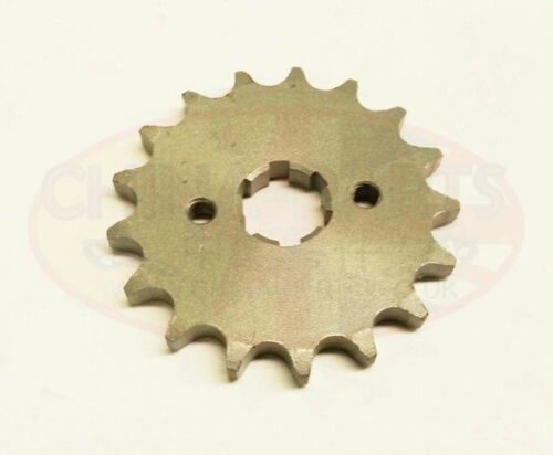 Gearing Upgrade 17 Tooth Front Sprocket for Kinroad Cyclone XT125-16