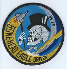 95th FS F-15 BONEHEAD EAGLE DRIVER patch