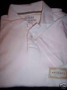 Arizona-Jeans-NWT-White-Polo-Shirt-RV-26-XXL-NEW