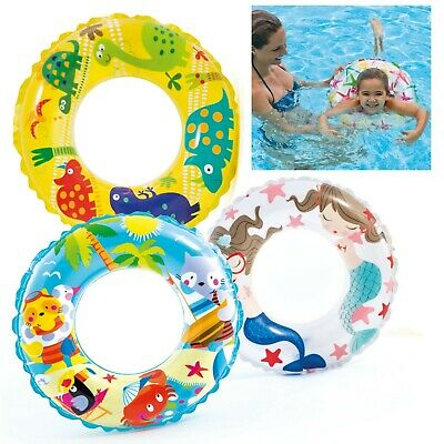 "51cm Inflatable Swim Rings 3-6 yrs children child/'s Swim pool Ring Intex 20/"""