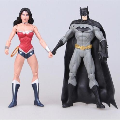 7Pcs DC Comic Justice League Superman//Batman//Wonder Action Figure Kid Gift Toys