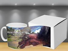 Monster Hunter World PS4 Themed - Coffee MUG CUP - Gaming - JRPG - Gaming