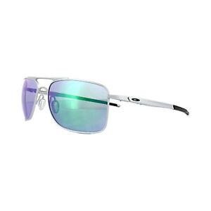 815ebdc07b Oakley Gauge 8 Sunglasses OO4124-04 Matte Lead Frame W  Jade Iridium ...