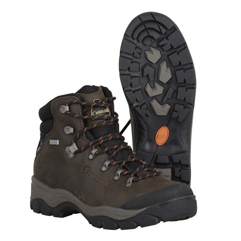 PROLOGIC Kiruna Leather Boots   8 Wasserdichte Leder Boots Schnür Stiefel