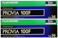 10x Fujichrome Provia 100f Rdp Iii 135-36 Fuji Reversal 35mm Film Exp: 07/2018