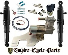 HARLEY AIR RIDE KIT FOR BAGGER AND TOURING 1994-2020...WITH COMPRESSOR MOUNT