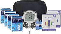 Bayer Contour Next Ez Diabetic Testing Kit 200 Strips 200 Lancets + Bonus Case