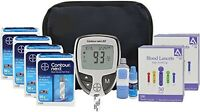 Bayer Contour Next Ez Diabetic Testing Kit 200 Strips 200 Lancets + Bonus Case