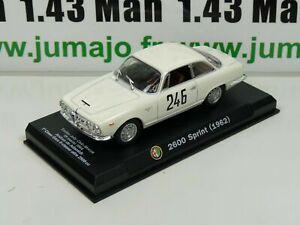 IT76N-Voiture-1-43-Hachette-ALFA-ROMEO-collection-2600-SPRINT-1962-blanche
