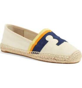 90f739369 Image is loading NIB-Tory-Burch-LAGUNA-Espadrille-Flat-Shoes-Loafer-
