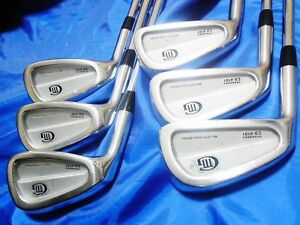 Left-handed-6pc-MIURA-CB-8101-Forged-NSPRO-S-flex-IRONS-SET-Golf-9158