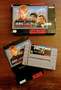 Home-Alone-2-SNES-Super-Nintendo-Game-Original-Box-Instruction-Tested-New-York