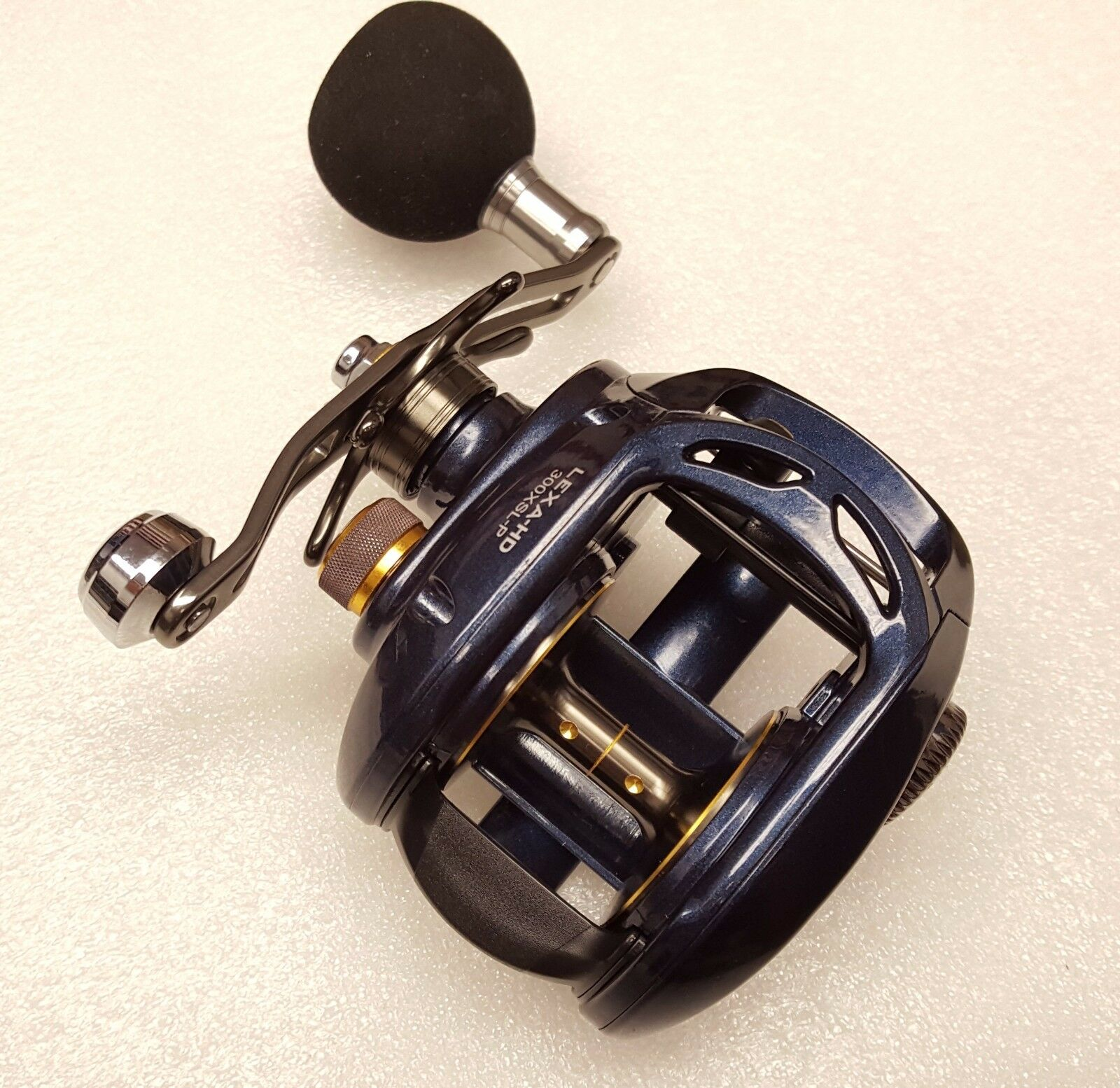 Daiwa Lexa HD 300 High Speed Left Hand Power Baitcast Reel Reel Baitcast 8.1:1 LEXA-HD300XSL-P 737a7c