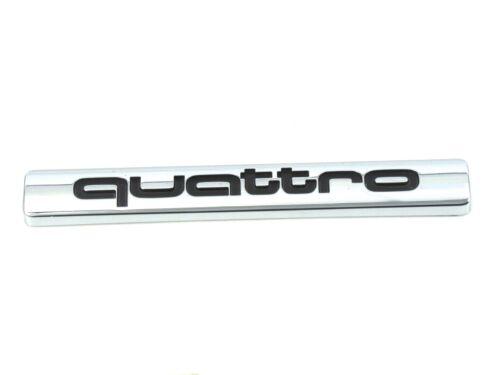 Véritable nouvelle audi quattro Grille Badge emblème pour Q7 2007-2011 Sportline TDI FSI
