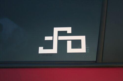 Buy 2 get 1 free offer! Peter Sagan logo die-cut car window sticker