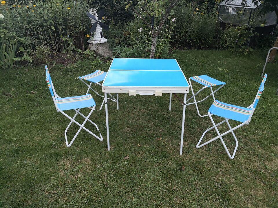Campingbord,picnicbord bordsæt,Skovtur Campingbord