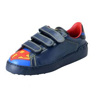 Details zu Valentino Garavani Damen Limitierte Auflage Super H Superman Turnschuhe