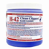 H-42 Clean Clippers Blade Cleaner Anti-bacterial Cleans Blade W/o Removing 237ml