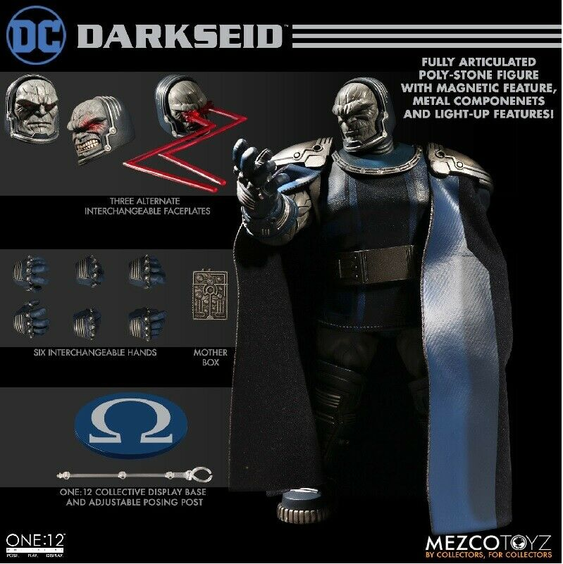 DC Comics Darkseid One 12 colectivo Mezco
