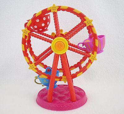 Lalaloopsy Mini Peanut/'s Spinning Tea Cups Ferris Wheel Playset