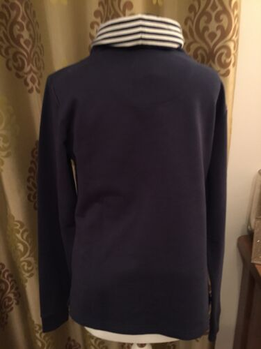 Bleu Quba Tag Jumper New With 10 Brand Marine Taille Femmes wxYI4OqF