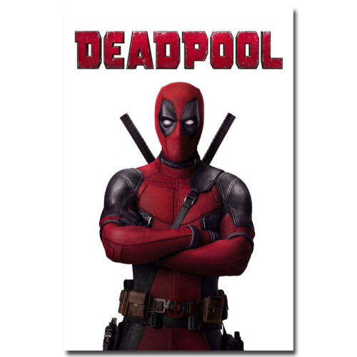 Deadpool Superhero Movie Silk Poster 13x20 24x36 inches 006
