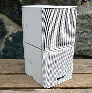 1 bose jewel doppel cube lautsprecher satelliten acoustimass lifestyle wei. Black Bedroom Furniture Sets. Home Design Ideas