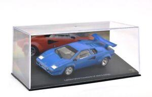 Altaya-Diecast-Escala-1-43-JT04-Lamborghini-Countach-Lp-400-S-Blue-1978