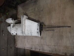 Image Is Loading Chrysler Force Outboard Motor Saildrive Gearbox Extra Long