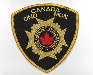 CANADA-DND-MDN-Department-of-National-Defense-FIRE-DEPARTMENT-Service-golg-wire