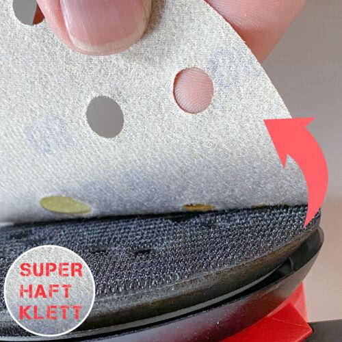 100x 150 mm Meule ponceuse meuleuse-Velcro-Meules meule Ponceuse Disque abrasif dipoxy