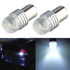 White 1156 BA15S P21W DC 12V CREE Q5 5W Car Auto Reverse Light LED Lamp X1