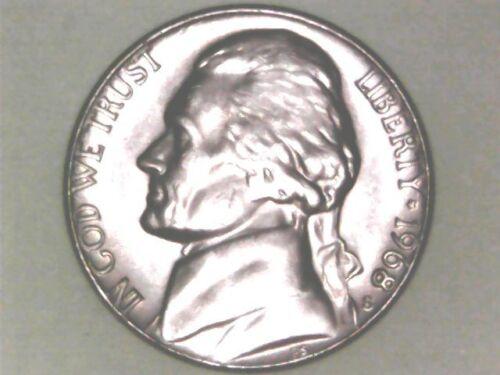 1968S JEFFERSON NICKEL BU