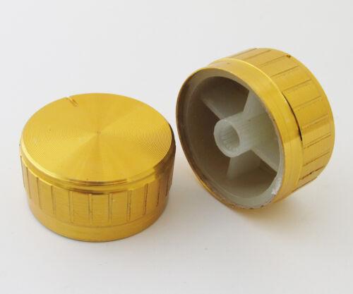1pc 40x17mm Circular Knob Aluminium Cover for Audio Volume Tone Control 3 colors