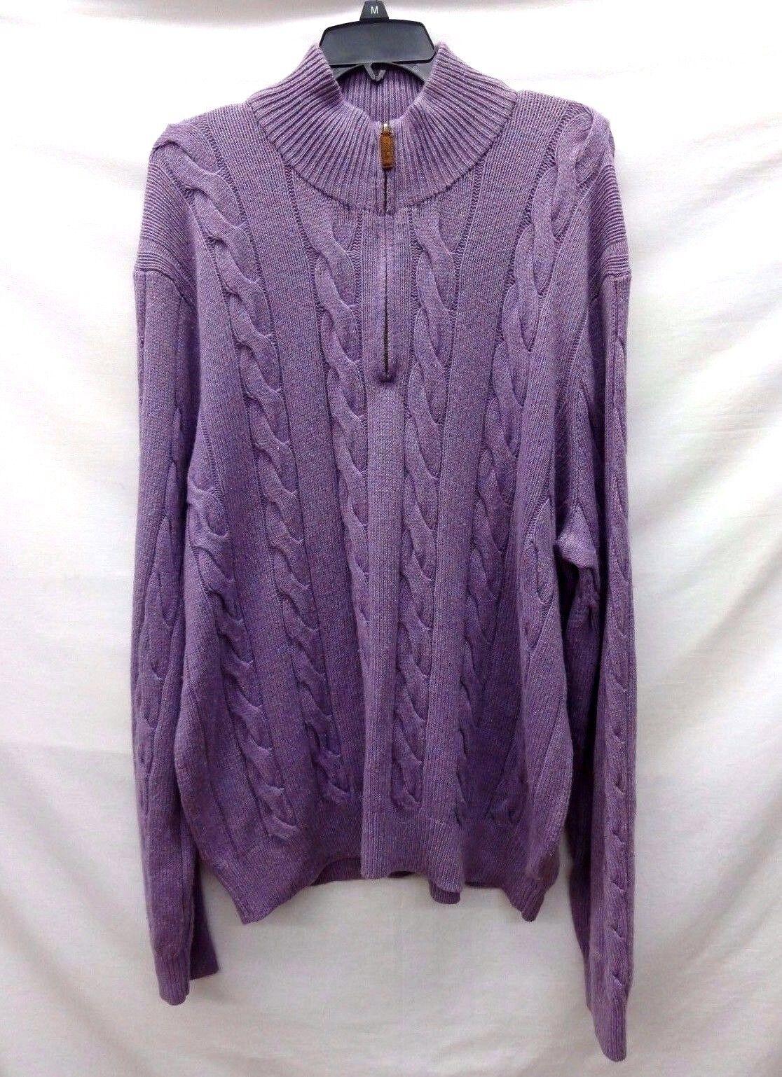 Polo By Ralph Lauren Men's Half Zip Sweater, Size XL