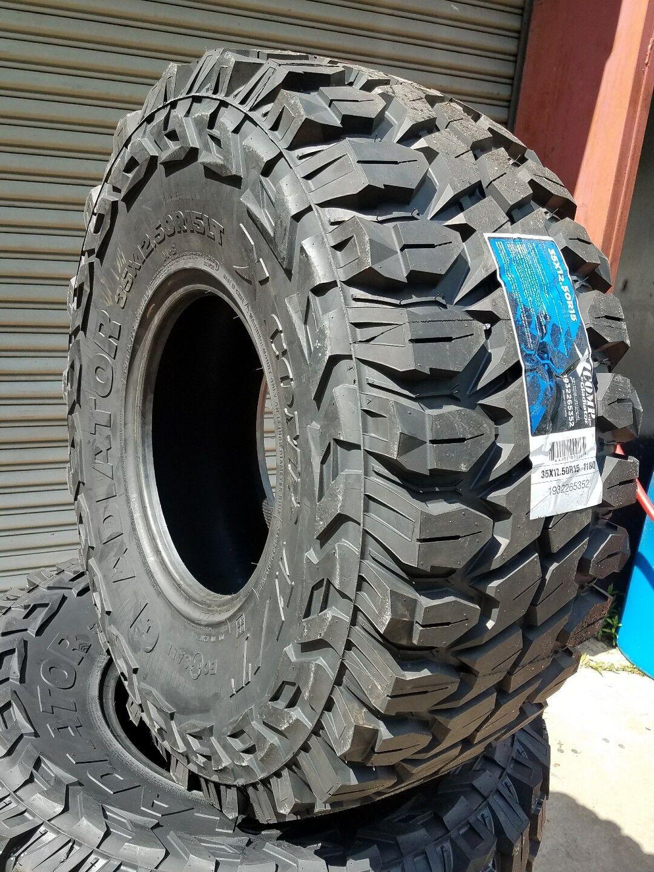 35x12 50x15 Neumaticos De Barro Xcomp Gladiador Nuevo 10 Capas D