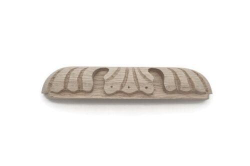 """7/"""" Carved Wood Furniture Pulls Oak Desk Drawer Pulls Handles Wood Cabinet Pulls"""