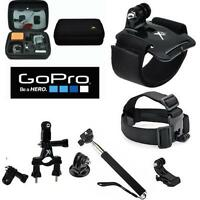 Hard Case For Gopro Hero5 Session Session5 + Motorcycle Mount + Accessories Kit