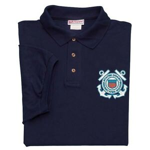 U-S-COAST-GUARD-EMBLEM-LEFT-CHEST-EMBROIDERED-POLO-SHIRT